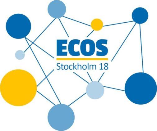 ECOS Stockholm 2018 Invitation