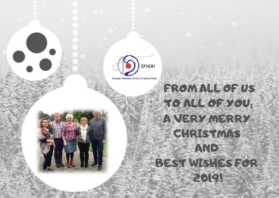 Happy Holidays from EFHOH