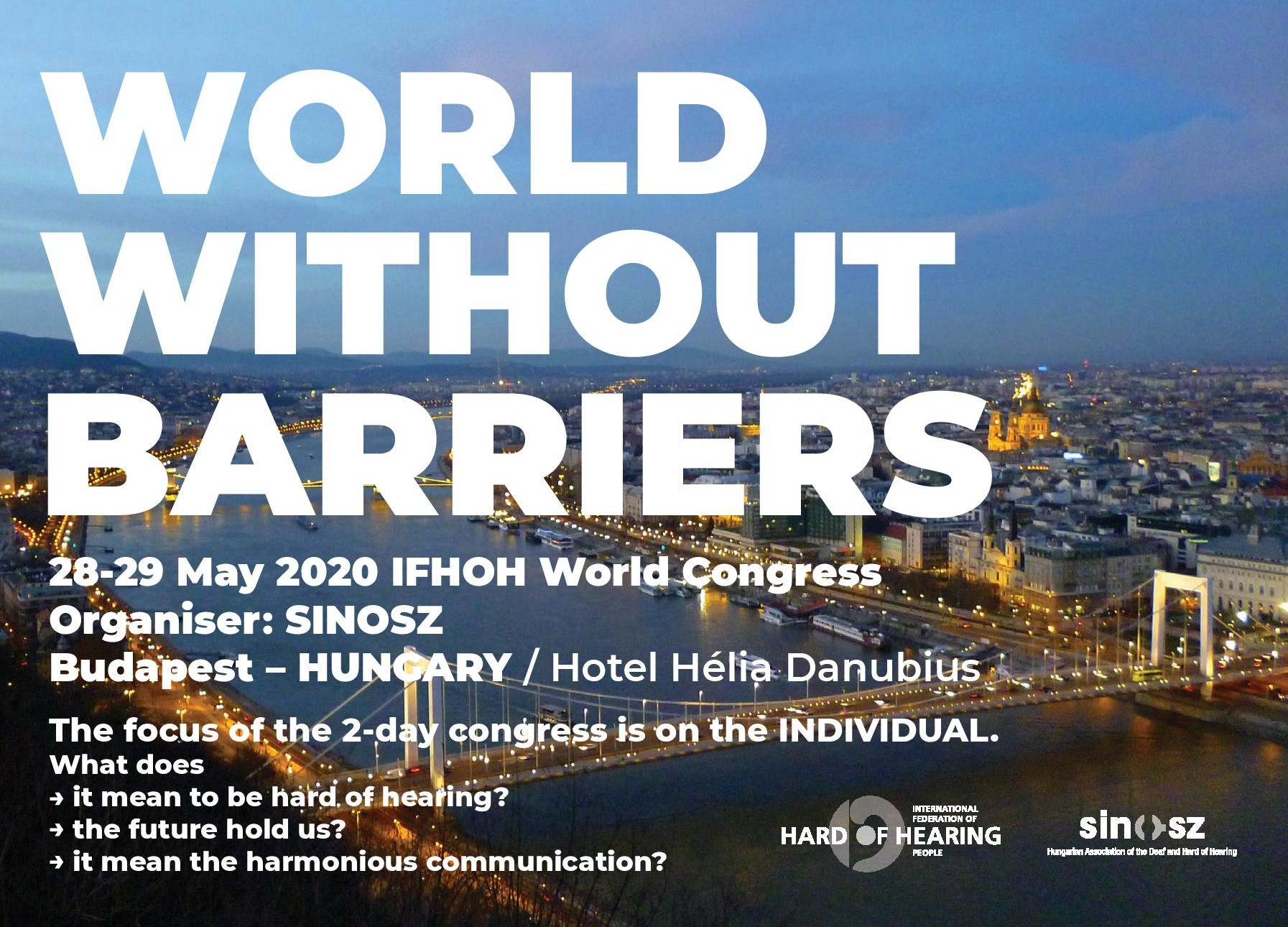 Save the Date! IFHOH World Congress 2020
