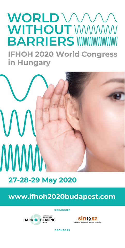Reminder – IFHOH World Congress 2020 – Budapest, Hungary